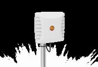 Poynting A-PATCH-0025-V2-01 - PATCH-25-1 Circular RFID Patch Antenna, 860-960 MHz., 8.75dBi, 1m HDF-195 SMA(m)
