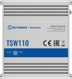 Teltonika TSW110 L2 Industrial Ethernet Switch, unmanaged, 5x Gigabit Ethernet, DIN rail option