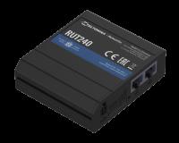 Teltonika RUT240 Cat4 LTE (MEIG Modul) WIFI Industrial Router, 2 Lan, 1 Wifi, 1 SIM, 9-30VDC