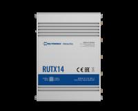 Teltonika RUTX14 4G LTE CAT12 Industrie Mobilfunk Router, 2x SIM, Quad Core CPU, 256 MB RAM, 9-50V