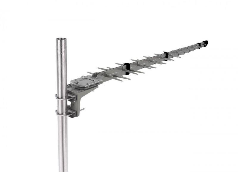 Poynting A-LPDA-0092 - LPDA-92 High Gain All-Band Cellular Antenne, UMTS 2.1/LTE, 5G, 11dBi, 7m HDF195 mit SMA (m) Stecker, 694-3800MHz