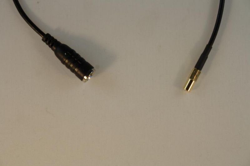 Pigtail Antennenadapter RG174 FME (m) / SSMB, 0,30m