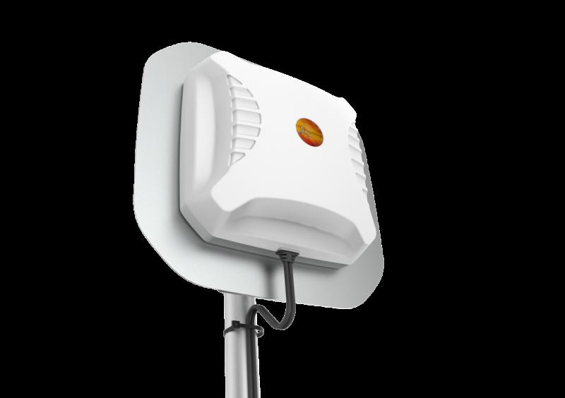 Poynting A-XPOL-0016 - XPOL-16 Ultra-Wide kreuzpolarisierte LTE & WIFI Antenne, 450-2170MHz., max. Gewinn 8dBi, 5m Kabel, SMA (m)