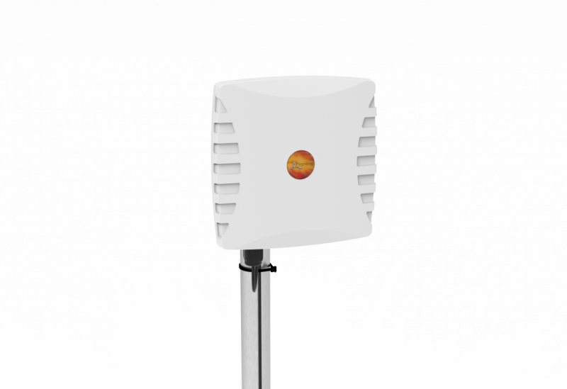 Poynting A-WLAN-0060-V1 Dual Band WIFI Antenne 2400-2500, 3300-3800 & 5000-6000 MHZ, max. Gewinn 18dBi, SMA(m), Masthalterung