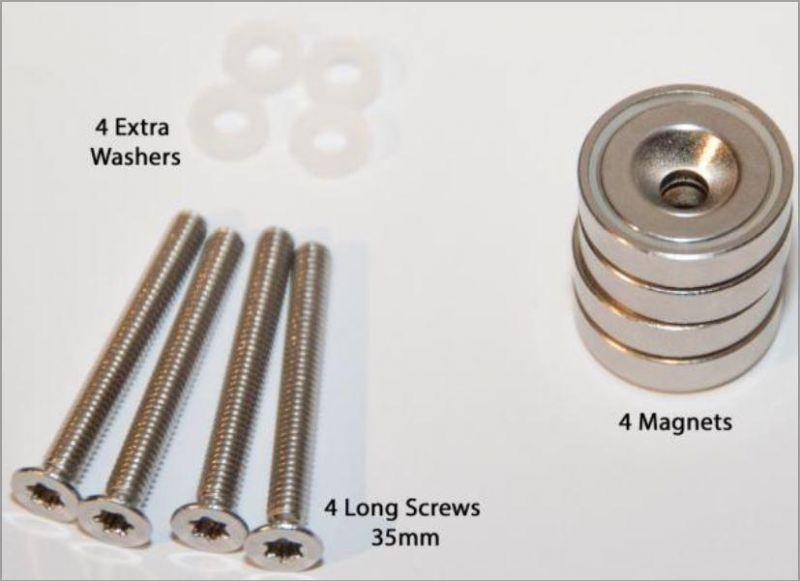 ITalks 110518M 4x Magnets with 4x Screws