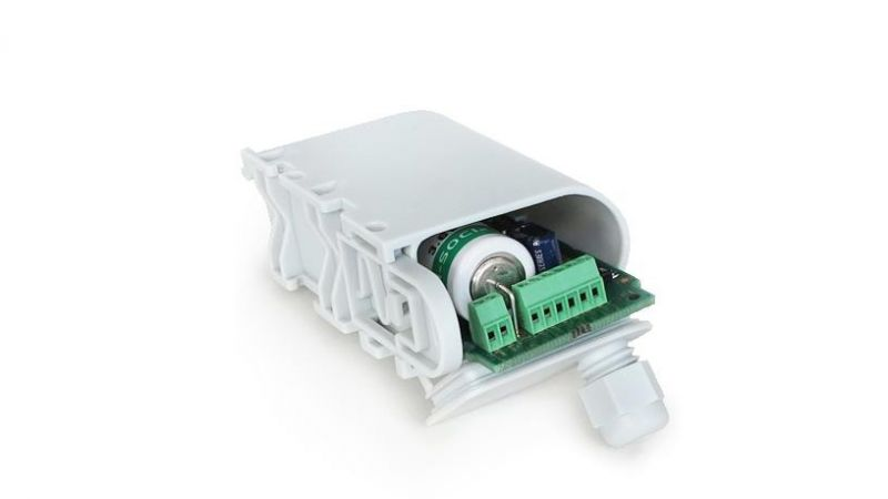 Adeunis 110522SP-2 Sigfox pulse transceiver. For water, gas, electricity, heat meters.