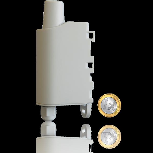 Adeunis 110540S Dry Contacts Sigfox Sensor, 4 konfigurierbare I/O, austauschbare Batterie