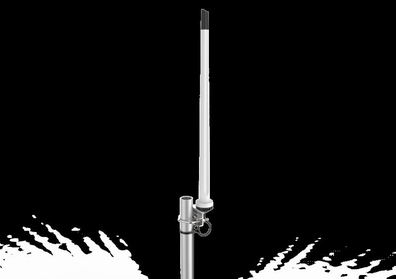 Poynting A-OMNI-0121-01-V3 - OMNI-121-1 All-Band Mobilfunk Omni Direktional Antenne, 2,4-7dBi, 5m HDF195 Kabel mit  SMA (m) Stecker, 790-2700MHz
