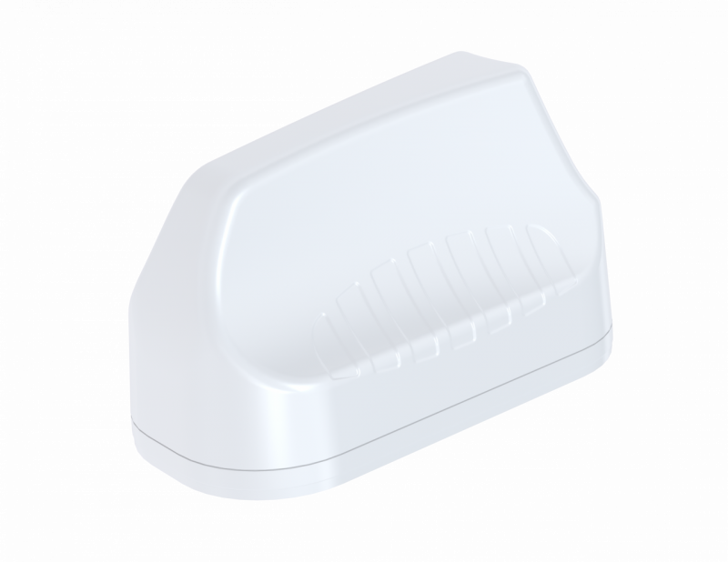 Poynting A-MIMO-0003-V2-13 High Performance Robust Multifunctional 3-in-1 MIMO Antenna: 2  * LTE 450-3800 (max. Gain: 4.2 dBi) + 1 * GPS/Glonass -2M 7