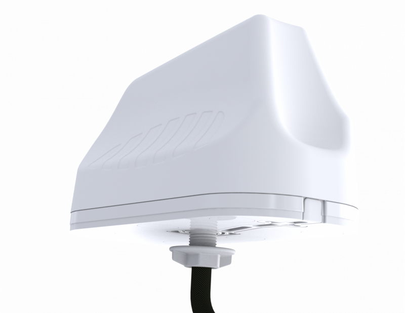 Poynting A-MIMO-0003-V2-12 High Performance Robust Multifunctional 2-in-1 MIMO Antenna: 2  * LTE 450-3800 (max. Gain: 4.2 dBi)  -2M Fire Retardant Hi7