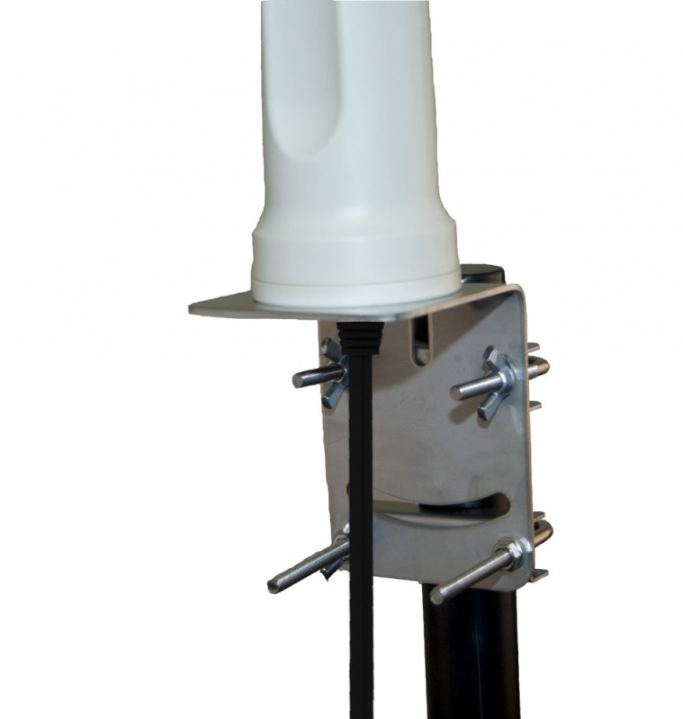 Poynting A-OMNI-0600-V1-02 Breitband MIMO (2x2) omnidirektionale LTE & WiFi Antenne, 410 - 3800 MHz., max. Gew.: 6.2 dBi, Masthalterung