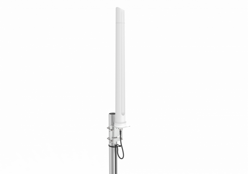 Poynting A-OMNI-0292-V2 All Weather Ultra-Wide Omni-directional LTE & WiFi antenna, 690 - 2700 MHz., max. Gain: 8 dBi, with stainless steel pole mount