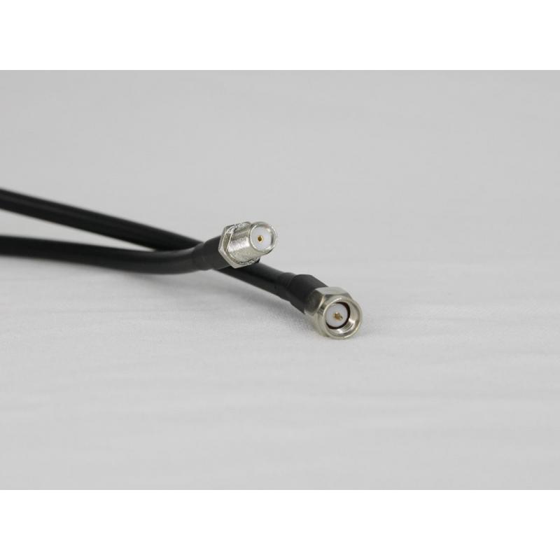Antenna cable LMR-195 low-loss SMA (m) / SMA (f), 2m