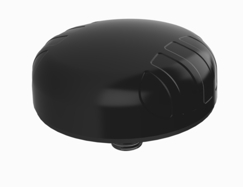 Poynting A-PUCK-0004-V1-01 Robuste 3 in1 Ultra Wide Band PUCK Rundstrahlantenne, schwarz, 2x 5G/LTE 698 - 3800 MHz + 1x GPS, 2m Kabel SMA (m)