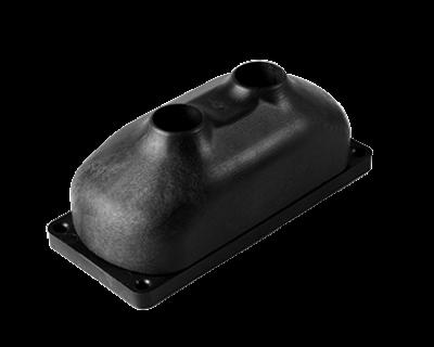 Sensoneo Smart Waste Sensor Sigfox, Single beam, ultrasonic filling-level sensor for smart waste applications, incl. mounting kit