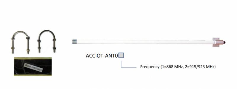 Kerlink ACCIOT-ANT01 Wirnet - Antenna Omnidir 868Mhz 3 dBi (KLK02373)