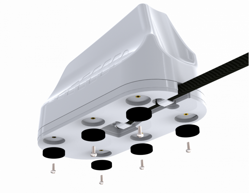 Poynting A-MIMO-0003-V2-14 High Performance Robust Multifunctional 5-in-1 MIMO Antenna: 4 * LTE 410-3800 (max. Gain: 6.2 dBi) + 1 * GPS/Glonass -2M Fi