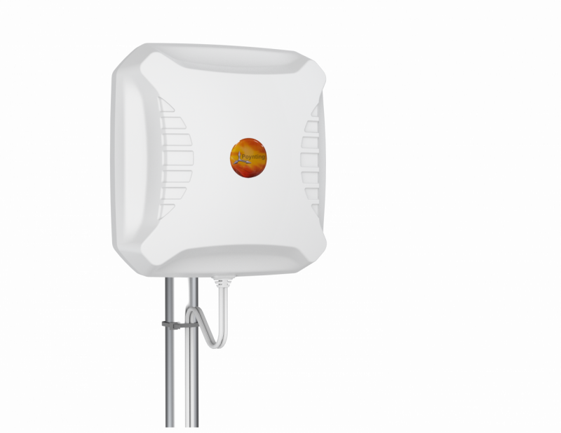Poynting A-XPOL-0002-V3-02 Cross Polarized LTE & 5G Antenna - 690-3800 MHz. - max. Gain: 11 dBi - Bulkhead N-Type (Female) - IP65 - Wall & Pole mount