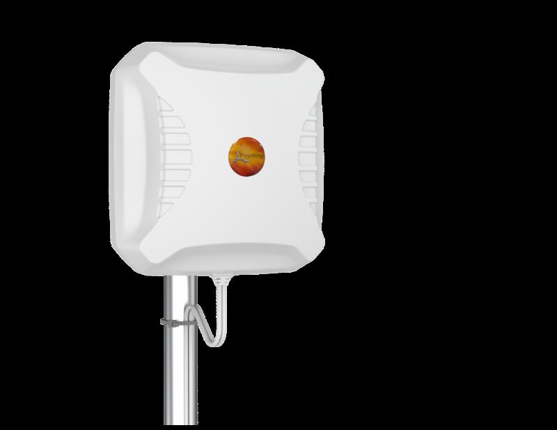 Poynting A-XPOL-0002-V3-03 Kreuzpolarisierte LTE- & 5G-Richtantenne 690-3800 MHz - max. Gewinn 11dBi, 10m Twin-Kabel, SMA (m), Wand- & Mastmontage
