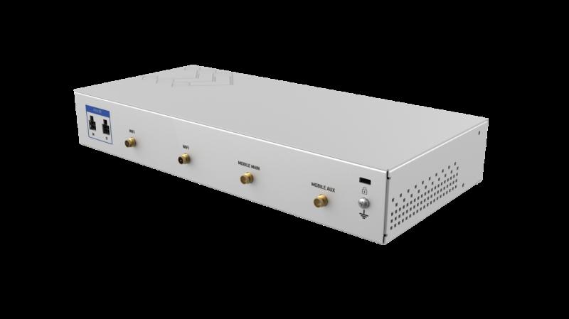 Teltonika RUTXR1 Next Generation Industrial WiFi Router, 2x SIM, Quad Core CPU, 256 MB RAM, 9-50V