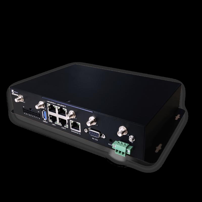 Celerway 3YP-CWY-5.2-E5L1W2 Stratus 1 Router CAT 12 + CAT 12 with E-marking, 600 Mbit/s, 2 LTE Dual SIM, 5x GB RJ45, 1 WiFi, 7 WAN