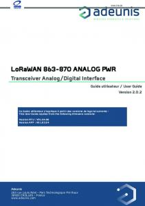 ITalks 110537 Adeunis Analog LoRaWan, replaceable battery